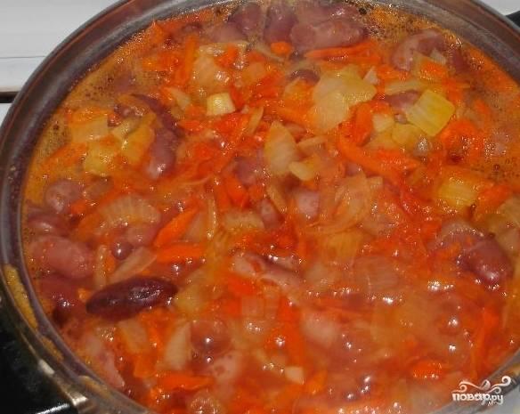 Красная фасоль в томатном соусе - пошаговый рецепт с фото на
