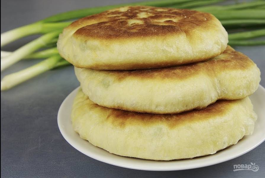 Пресные лепешки на сковороде вместо хлеба рецепт