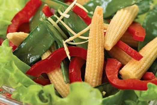 Салаты из кукурузы
