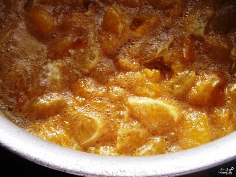 Мандариновое варенье - пошаговый рецепт с фото на