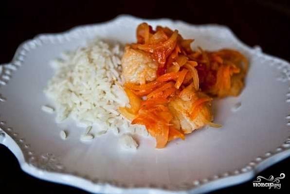 Рыба с овощами под маринадом - пошаговый рецепт