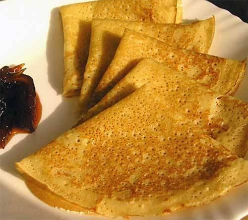 4. Готово! Подавайте с медом или вареньем. Приятного аппетита!