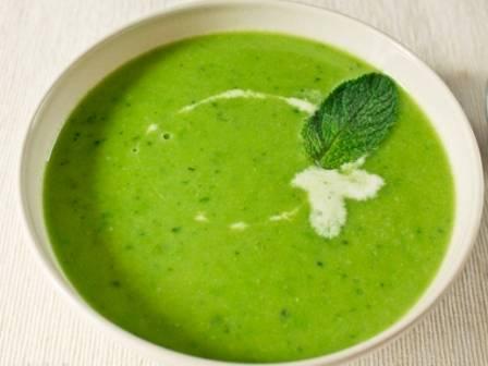 Суп из молодого горошка - пошаговый рецепт