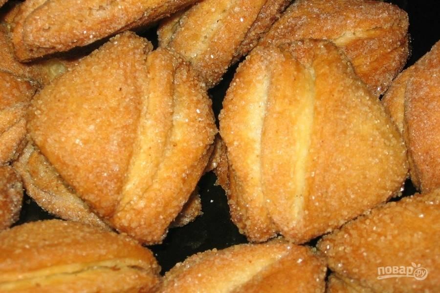 печенье из творога поцелуйчики пошаговый рецепт с фото