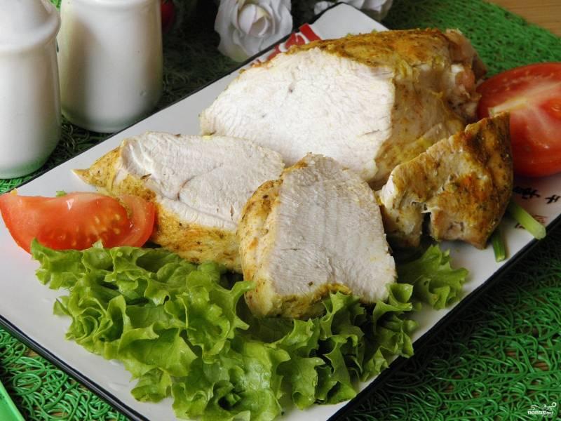Рецепт филе из индейки на духовке