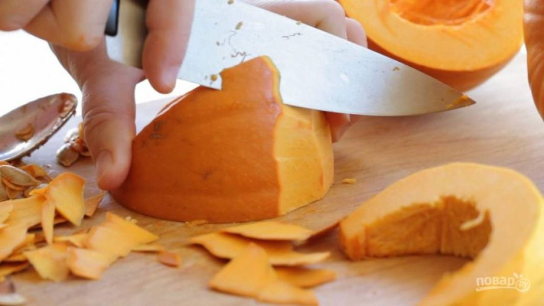 Тыквенное пюре для детей - пошаговый рецепт