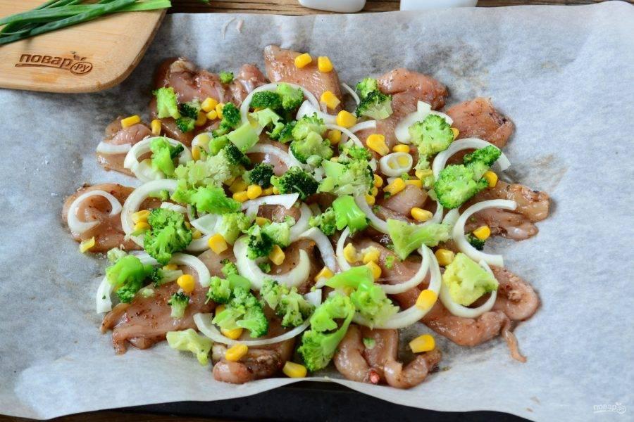 Пицца из куриного филе с сыром и брокколи - пошаговый рецепт с фото на