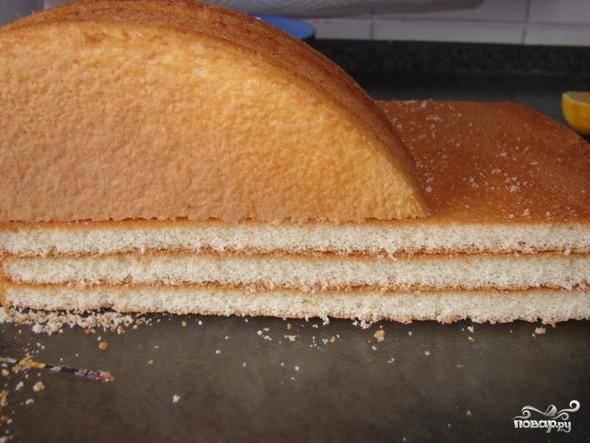 Торт с манго - пошаговый рецепт с фото на