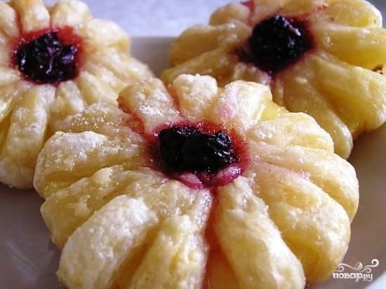 Печенье с ананасами