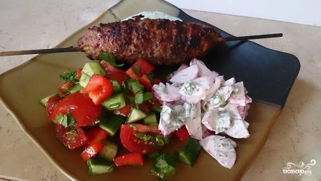 Aдана кебаб - пошаговый рецепт