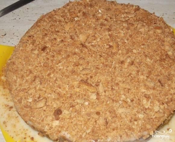 Торт - Медовик - со сметанным кремом - пошаговый рецепт