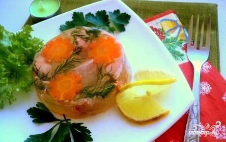 Заливное из семги - пошаговый рецепт с фото на