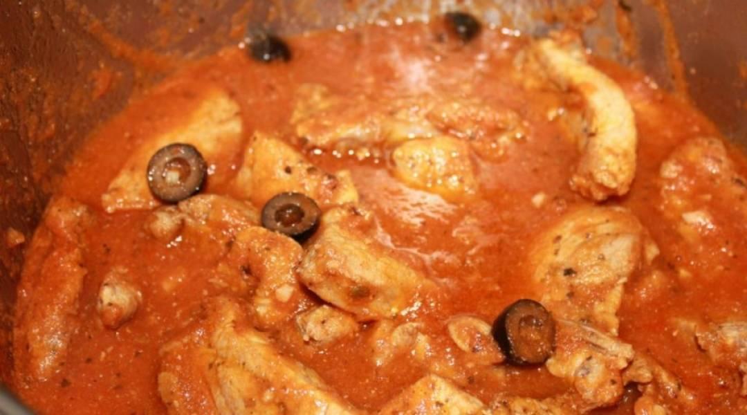 Говядина в томатном соусе - пошаговый рецепт