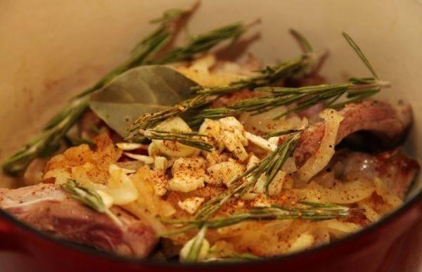 Свиные ребрышки с розмарином - пошаговый рецепт с фото на
