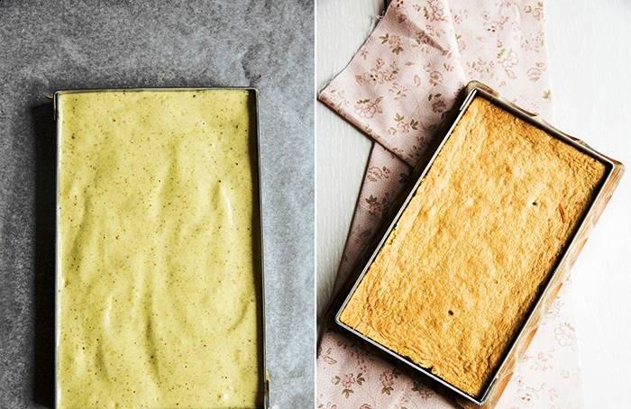 Клубнично-фисташковый торт - пошаговый рецепт с фото на