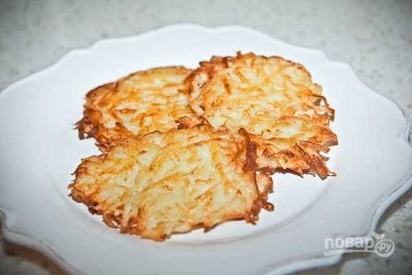 Драники из картошки - пошаговый рецепт