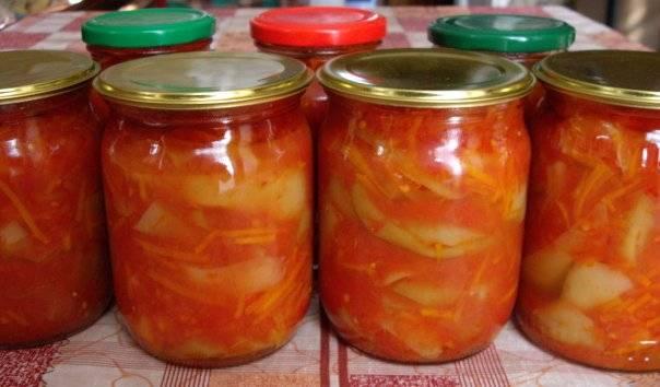Лечо с морковкой и луком - пошаговый рецепт