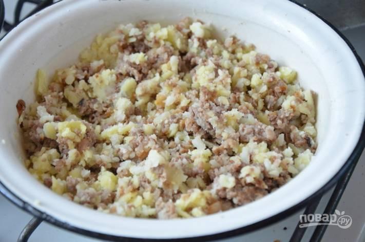 Гезлеме с мясом - пошаговый рецепт
