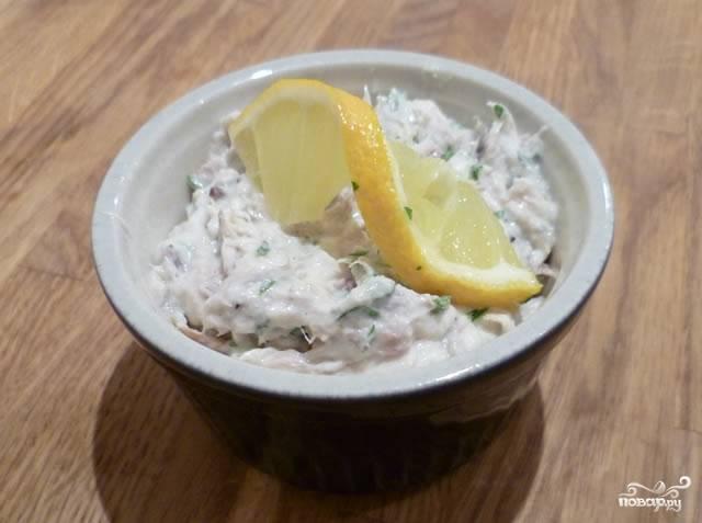 Паштет из рыбных консервов - пошаговый рецепт