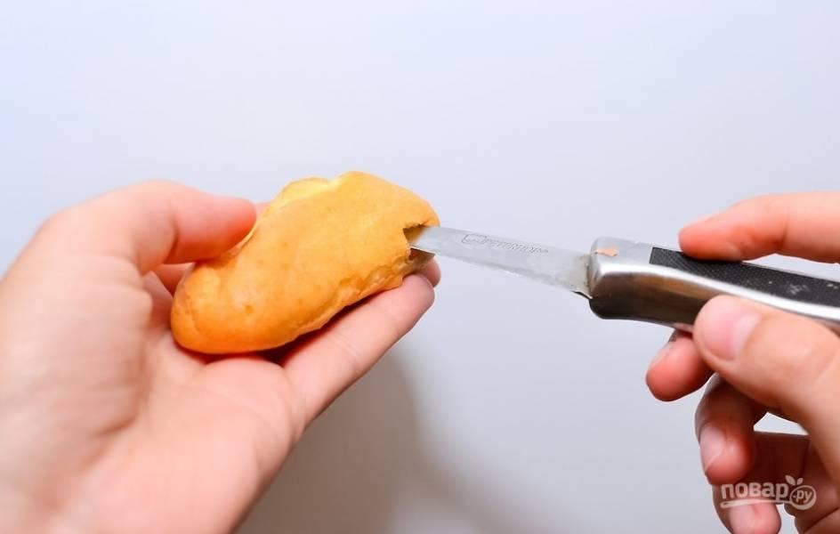 Эклеры (мастер-класс) - пошаговый рецепт