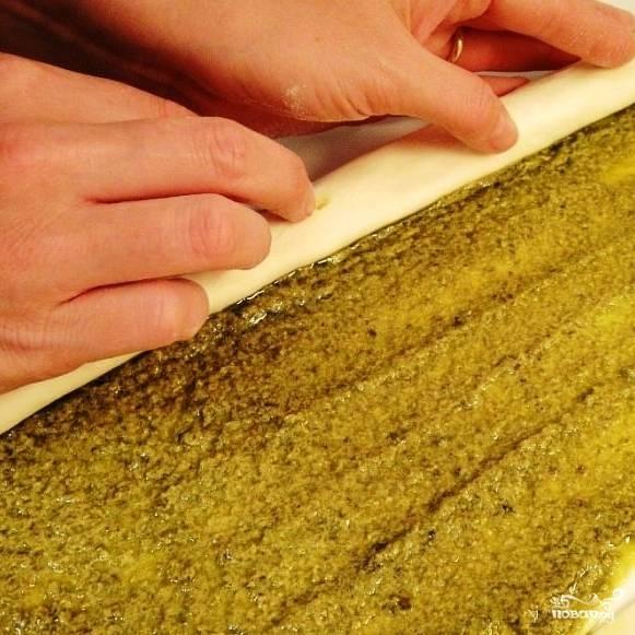 Печенье слоеное - пошаговый рецепт