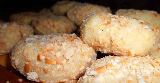 Картофельные крокеты с сыром - пошаговый рецепт