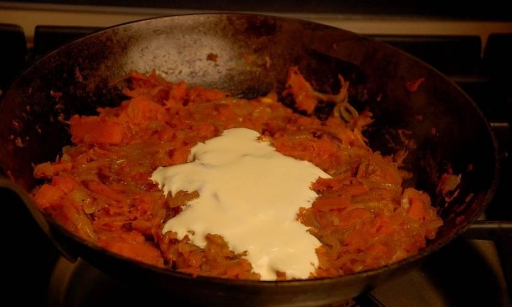Макароны с тыквой - пошаговый рецепт