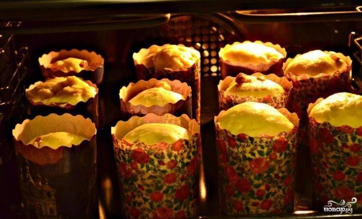 Кулич с изюмом и цукатами - пошаговый рецепт с фото на