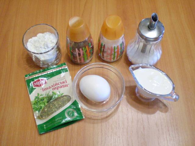 Кляр из сметаны - пошаговый рецепт