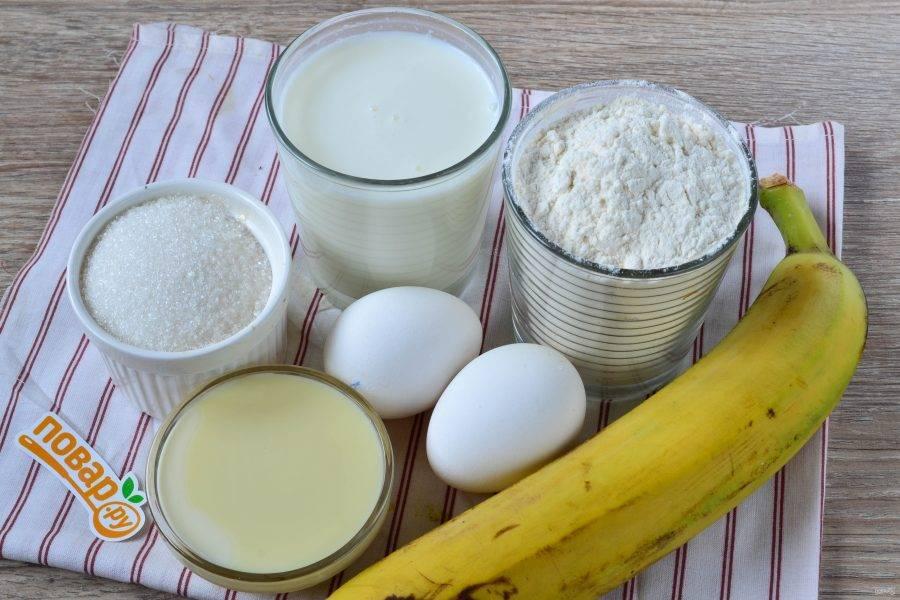 1.Подготовьте все необходимые ингредиенты.