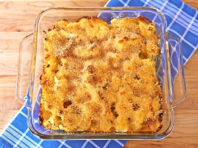 Запеканка из цветной капусты с сыром - пошаговый рецепт с фото на