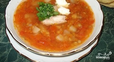 """Куриный суп в мультиварке """"Поларис"""""""