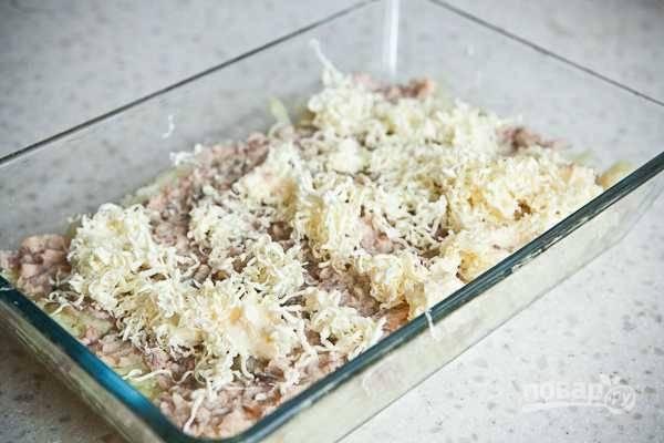 Мимоза - с горбушей - пошаговый рецепт