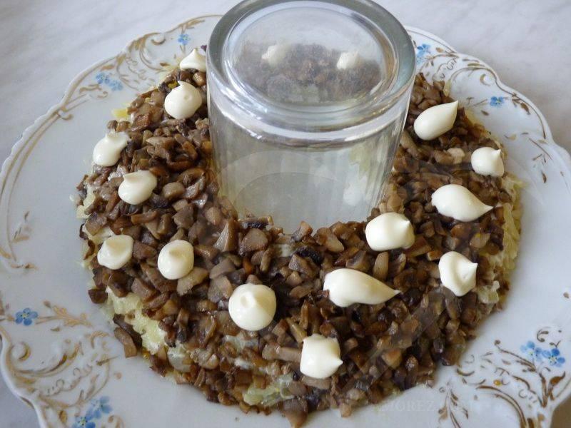 Салат - Рождественский венок - пошаговый рецепт с фото на