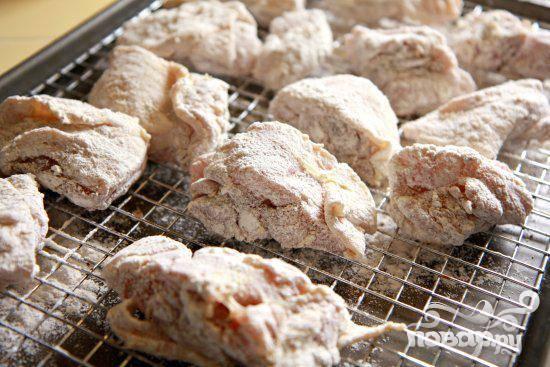 Курица в маринаде с панировкой - пошаговый рецепт