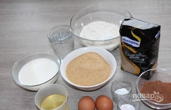 Пирожное - Вишнёвый ноктюрн - пошаговый рецепт