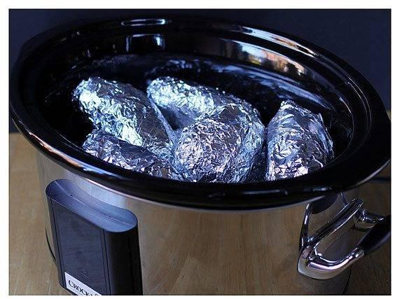 Картофель в фольге в мультиварке - пошаговый рецепт