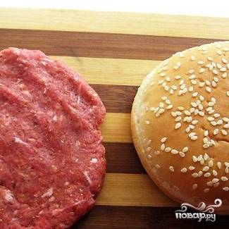 Котлета для гамбургера - пошаговый рецепт