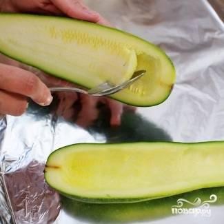 Цуккини фаршированные - пошаговый рецепт
