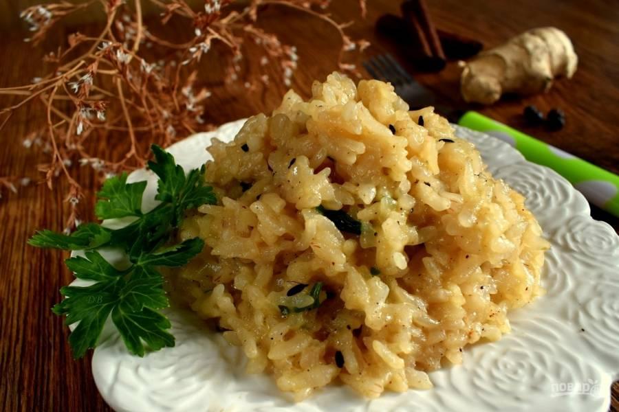 Масала бхат (пряный рис)