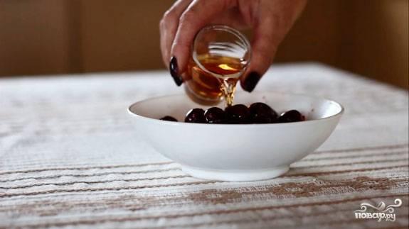 Вишня в шоколаде с коньяком - пошаговый рецепт