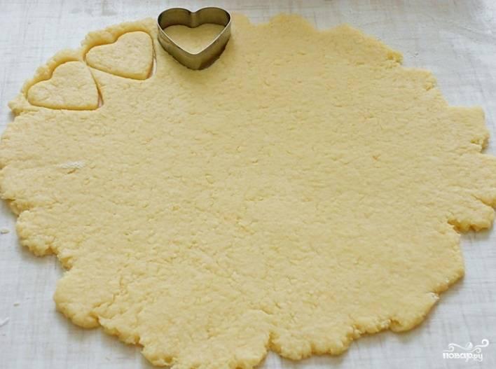 Быстрые сырные печенья - пошаговый рецепт