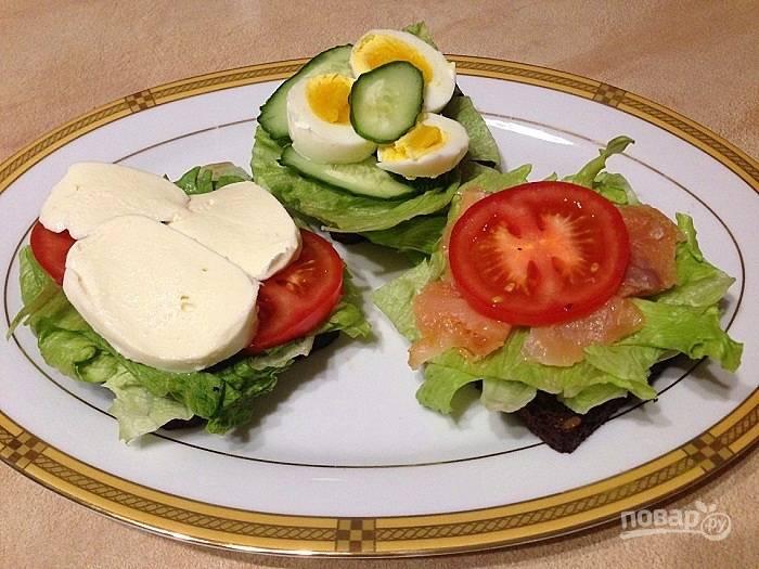 ПП-бутерброды на перекус