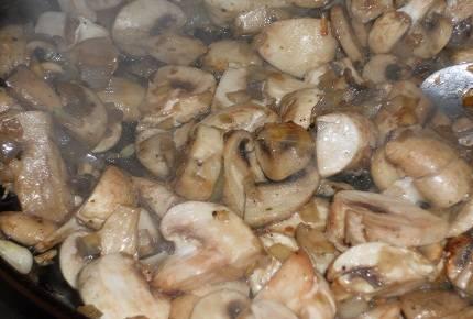 Печеночный торт с грибами - пошаговый рецепт