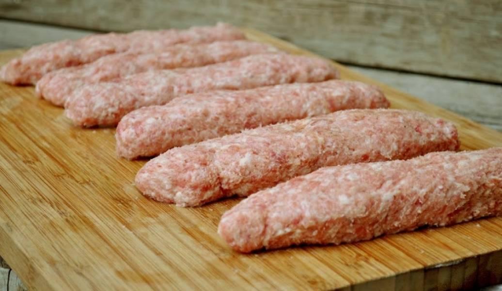 Люля-кебаб на сковороде-гриль - пошаговый рецепт