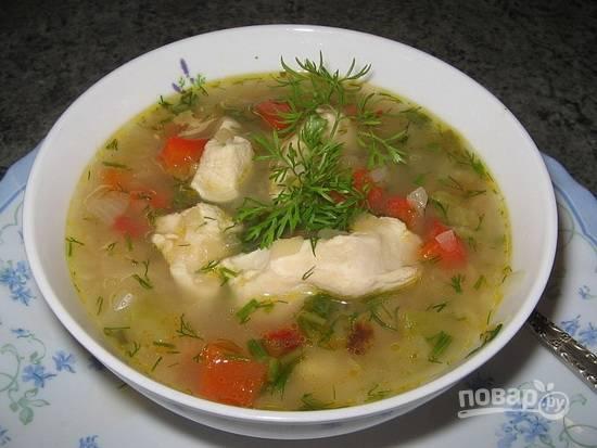 Суп с налимом