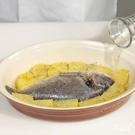 Дорада с картофелем - пошаговый рецепт