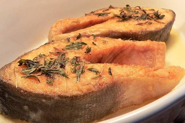Горбуша в мультиварке с картошкой - пошаговый рецепт