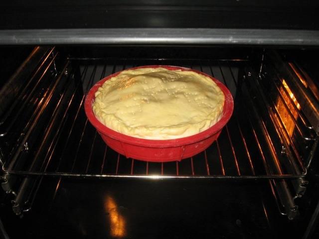 Пирог с грибами закрытый - пошаговый рецепт