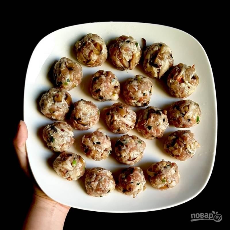 Крабовые тефтели - пошаговый рецепт